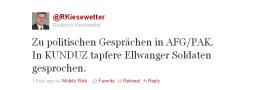 Tweet Kiesewetter
