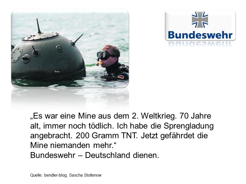 Bundeswehr Nachwuchswerbung 1