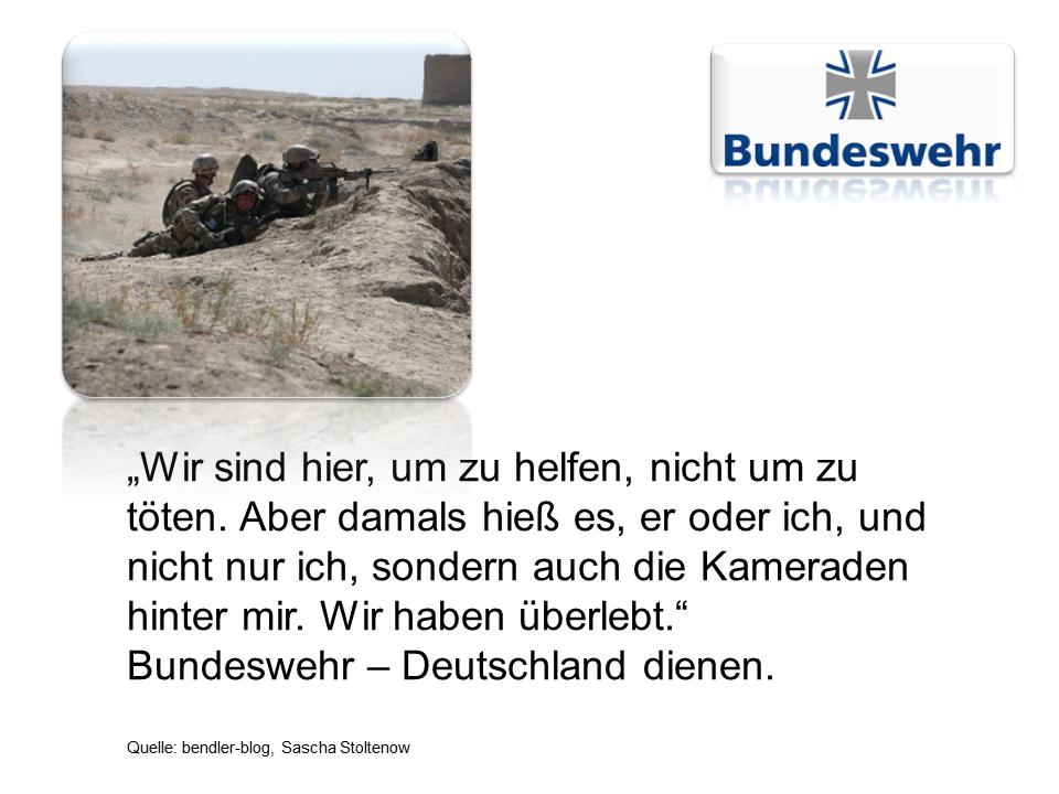 Bundeswehr Nachwuchswerbung 2