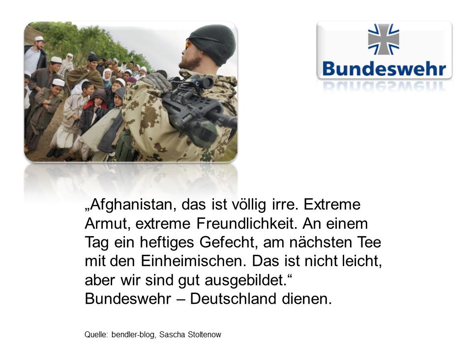 Bundeswehr Nachwuchswerbung 6
