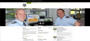 Screenshot Website Führungsakademie der Bundeswehr