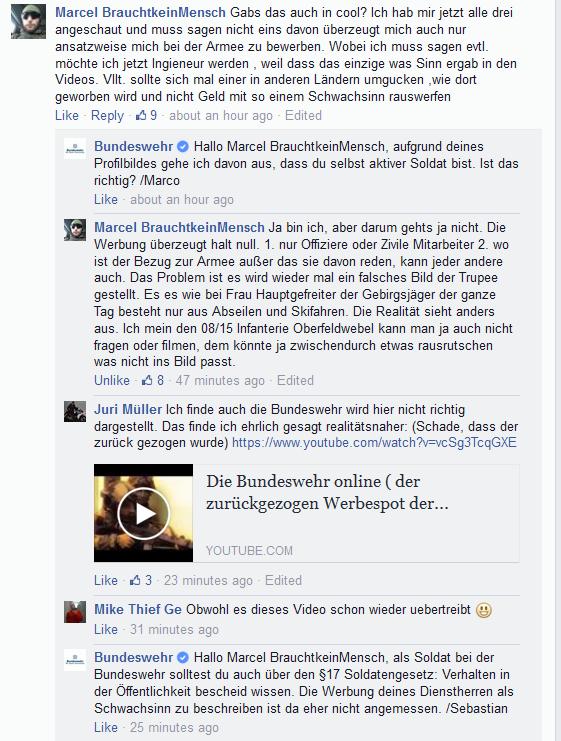 Diskussion Facebook